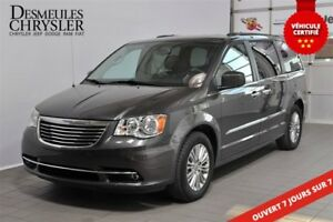2016 Chrysler Town & Country Touring-L**CUIR**GPS**DVD+++