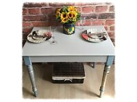 Unique Shabby Chic Small Dining Table
