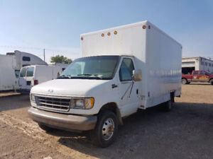 1996 Ford E-350 Cube van priced for quick sale!