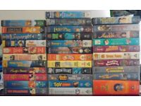 VHS TAPES 5 for 1 pound or 25 pence each
