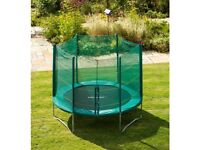 Smyths 10ft trampoline with enclosure