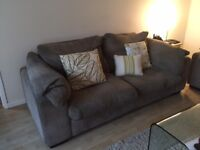 3 Seater & 2 Seater Metal action sofa bed