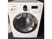 SAMSUNG 8kg ecobubble washing machine 1400 spin £135 good condition