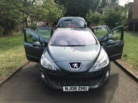 Peugeot 308 1.6 VTi SE 5dr, p/x welcome Full Glass Roof,FREE WARRANTY