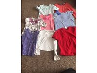 Bundle of 3-4yrs tops - long and short sleeve