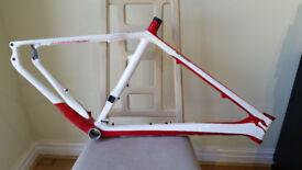 Full Carbon Bike Frame (New), OnOne Carbon XC Whippet Frame, £190