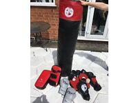 Kickboxing equipment job lot