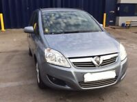 Vauxhall Zafira 2011 1.6 Exclusive 52,000 Miles