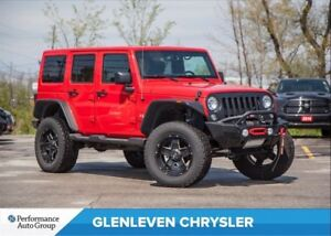 2016 Jeep WRANGLER UNLIMITED Sahara | $20,000 IN UPGRADES, MUST
