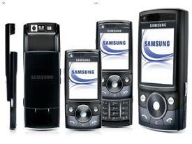 Samsung g600 slide phone