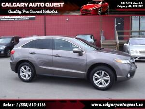 2013 Acura RDX Tech Pkg AWD/NAVI/B.CAM/LEATHER/ROOF