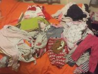 Baby girl big bundle of clothes 12-18 month