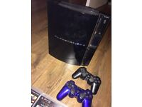 PS3 / 60GB / 2 WIRELESS CONTROLLERS / 6 GAMES / Playstation 3 / Sony