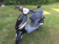 2006 BLACK PIAGGIO ZIP 50cc...11 MONTHS MOT