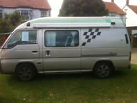 Campervan Nissan Caravan Homy Automatic Diesel