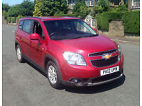 2012 CHEVROLET ORLANDO LT AUTOMATIC 141BHP [7 SEATS] 1.8 PETROL LOW MILEAGE, CLEAN, 1 YEAR MOT