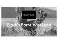 Black's Barre Weekend