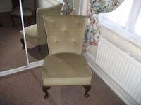 Nursing Chair - Green Dralon