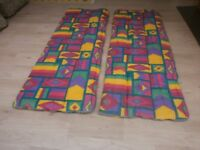 2 Matching Sleeping bags (can be zipped together to form double)