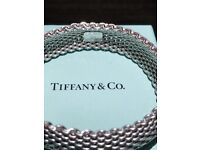 Tiffany and Co Mesh Bracelet in 925 Silver