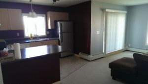 A beautiful corner suite with 2 bedrooms and 2 full baths.