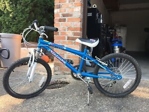 2 mountain bikes both 6 speed and 20 inch tires