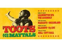 2 x TOOTS & THE MAYTALS at O2 ABC Glasgow