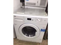 Graded New BEKO WI1573 Integrated Washing Machine 7KG