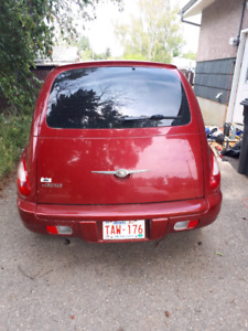 Red Pt cruiser for sale!!  Willing to negotiate prices!!