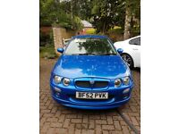 Reliable 2002 MG ZR 1.4