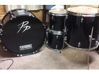PP Drum Kit For Sale - £100 - bargain price!