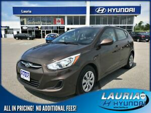 2015 Hyundai Accent GL Auto - LOW KMS
