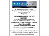 Refrigeration and Air Conditioning Installation and Service Engineer