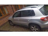 Volkswagen Tiguan S TDi Bluemotion 2.0 2011 5dr, Silver, Diesel, FSH, 1 P Owner, 49K * Leeds *