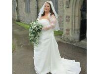 wedding dress (plus size)