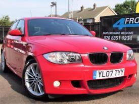 2007 BMW 1 SERIES 2.0 118I M SPORT 5DR MANUAL PETROL HATCHBACK PETROL