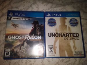 Tom Clancy's Ghost Recon Wildlands / Uncharted