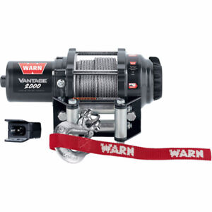 ATV Winch - Warn Winch - Vantage Series - Warranty