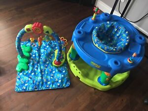 Exersaucer with Playmat