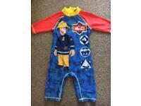 Fireman Sam UV Suit