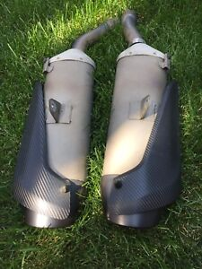 Slip-on Yamaha YZF R1 pipe, exhaust eom