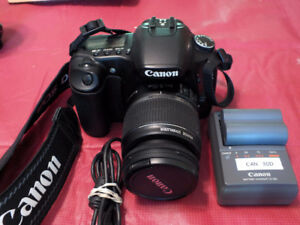 Semi-pro Canon 30d DSLR with IS lens.