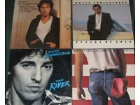 BRUCE SPRINGSTEEN VINYL LP SELECTION