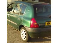 RENAULT CLIO RN 2001 £350 ono