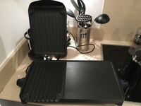 George Foreman large two-section grill