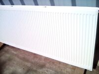 GCH Large powerful warm double panel radiator for gas central heating boiler systems NN9 160x60x7cm