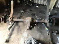 Ford transit mk7 2.4 rwd rear axle