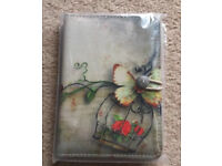 "7 inch Case Cover Book For 'Tablet - 7"" Bird cage butterfly case"