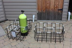 rack de transport pour bouteilles de plongée