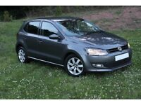 Beautiful Volkswagen Polo 1.2 Match 5dr *** CHEAP TAX ** VERY ECONOMICAL ON FUEL **